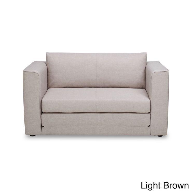 US Pride Furniture Ava Modern Reversible Fabric Loveseat And Sofa Bed (Dark  Grey Fabric Loveseat U0026 Sofa Bed)