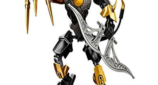 CHI Panthar kann dank seiner superflexiblen Glieder furchterregende Kampfposen einnehmen  Lässt sich mit 70211 CHI Fluminox zu einer noch stärkeren CHI Panthar Figur kombinieren. Die Bauanleitung findest du unter LEGO.com\Chima\BI  Über 19 cm groß http://www.was-schenken.ovh/Nach-Personen/Lego-Legends-Of-Chima-70208-CHI-Panthar.html