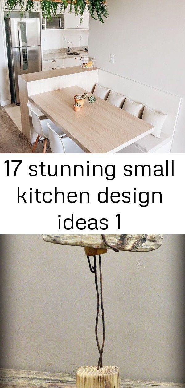 17 Stunning Small Kitchen Design Ideas 1 Innenhofgestaltung Mutoz Inc Creant Des Objets Flottants En Bois Bois Cr Kuchendesign Design Ideen Produktdesign