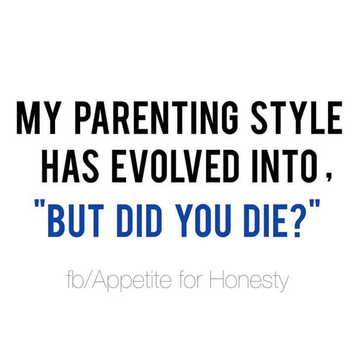 But did you die? Lol!