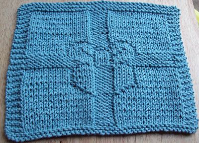 DigKnitty Designs: Gift Wrapped Knit Dishcloth Pattern