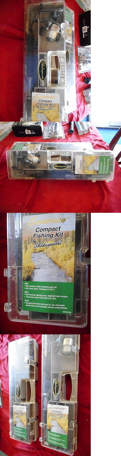 Spinning Combos 179956: Fishing Rod Shakespeare Excursion Compact Fishing Kit -> BUY IT NOW ONLY: $30.0 on eBay!