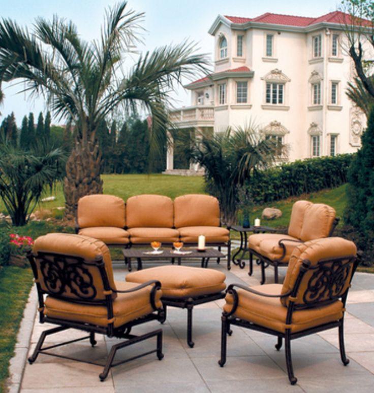 24 best Hanamint Patio Furniture images on Pinterest ... on Fine Living Patio Set id=42267