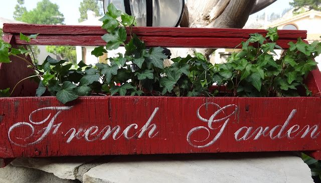 French Garden Caddy