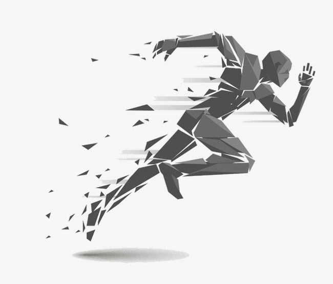 Abstract Running Man Man Clipart Run The Man Png Transparent Clipart Image And Psd File For Free Download Running Tattoo Ab Workout At Home Marathon Tattoo
