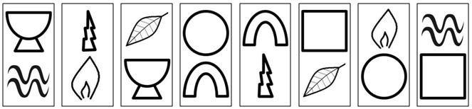 Le schéma universel de la réalisation de soi est une succession de 8 tableaux symboliques. Témoin de la Tradition, doté d'un caractère universel, il est présent sur tous les continents dans une quinzaine de mythes, legendes et textes sacrés pour lesquels il constitue un véritable paradigme. Il a été révélé par six ans de recherches du Yi King, dont il permet d'expliquer la structure énigmatique (voir livre : «Yi King : un chemin initiatique»).