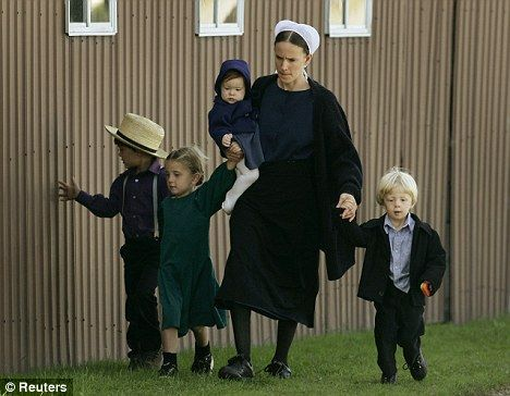 Image result for amish mother with lots of children