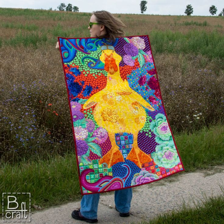 """""""Dream big, even if you are small"""" – art quilt"""