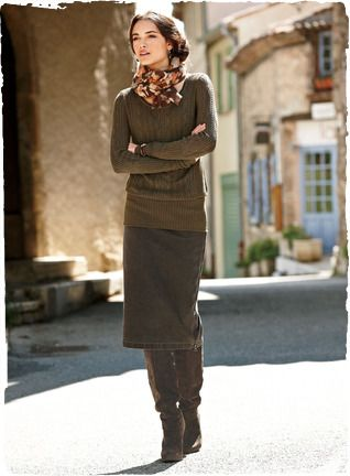 Love the look...    Renata Pencil Skirt  -    Peruvian Connection