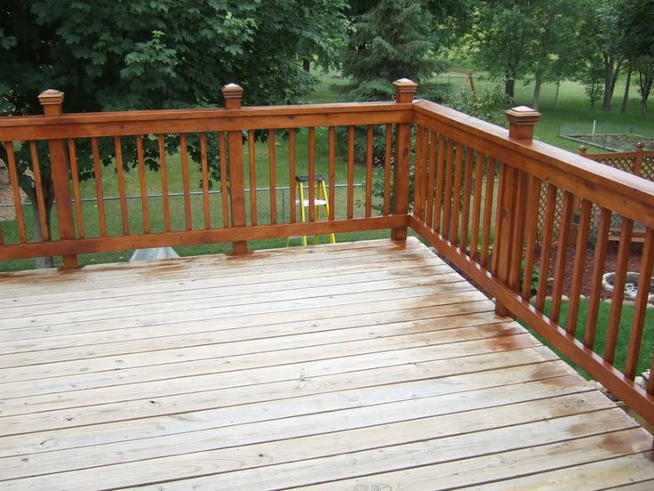 deck rail options - Google Search   Deck railings, Deck ...