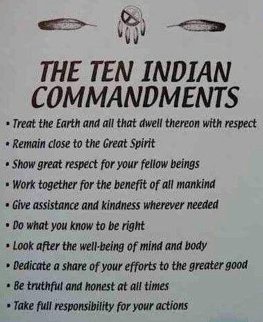 10 Indian Commandments