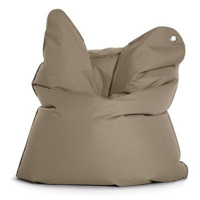 Outdoor Bull Bean Bag Chair Upholstery: Grey Brown - http://delanico.com/bean-bag-chairs/outdoor-bull-bean-bag-chair-upholstery-grey-brown-641110205/
