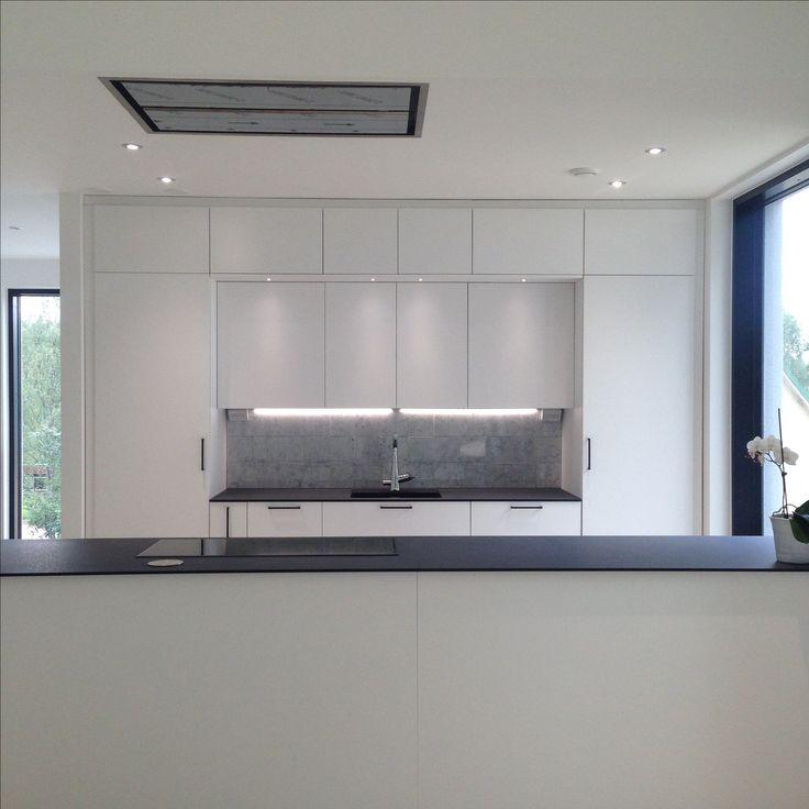 Keittiö. My home @raksatarinoita. #keittiö #kitchen #whitekitchen #modern