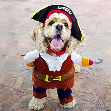 I think Ebin need this !!  :) USD $ 17.43 - Cool Pirates with Hat Flannelette Clothes for Pet Dog(Assorted Sizes), Free Shipping On All Gadgets!