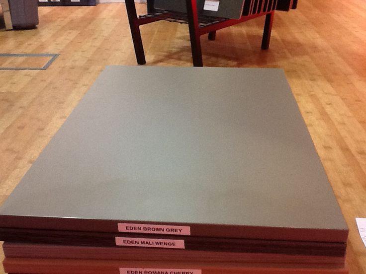 Eden Brown Grey - matt slab. not textured.  Too dark
