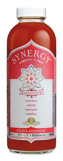 Synergy Guava Goddess Kombucha