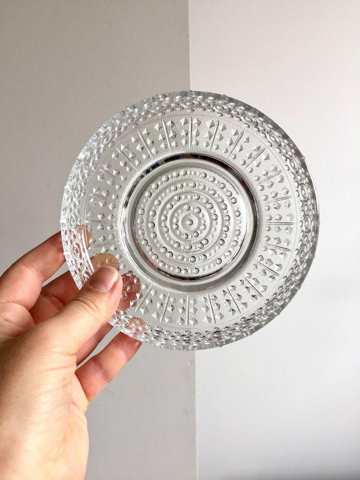 Vintage Glasschalen, Dessertteller wie Littala, Küchenteller, Geschirr Mid century, Eisschalen, Schale , Vintage Dekoration, Schüssel von moovi auf Etsy