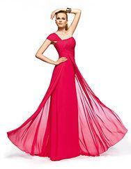 Pronovias presents the Zaraut cocktail dress from the 2013 Long Dress collection.   Pronovias