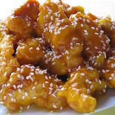 Honey Sesame Chicken 1 ½ lbs boneless skinless chicken breasts (cut into