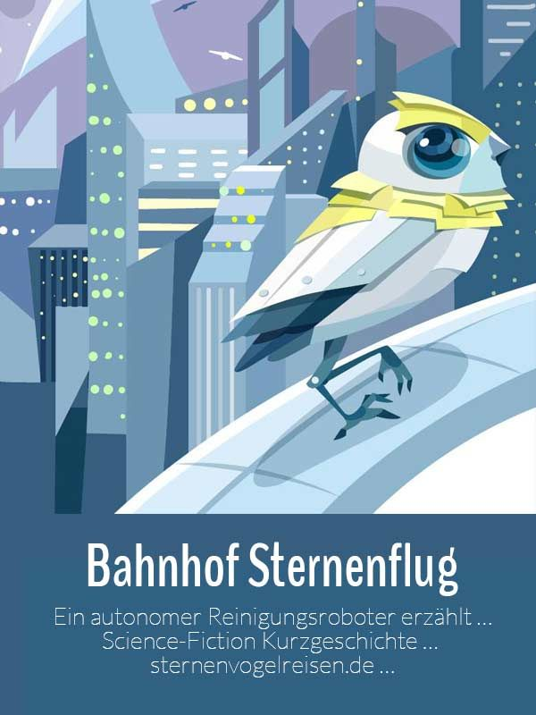 Bahnhof Sternenflug - Science-Fiction Short Story
