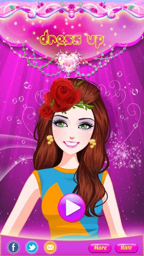 Find your inner fashionista - create new looks and styles for your Fairy Princess DressUp Salon.<p>Design your own princess girl with this dress-up game! It is sure to be a game your kids will love. You get to choose her hair, eyes, skin, dress, jewelry, handbag and more. Choose one magazine cover that you can take a picture for her.<p>** Features **<br>- Huge variety of fashion items,including dresses, shoes, jewelry, bags and hairstyles.<br>- Help her do her hair, skin, eyes, eyebrows…