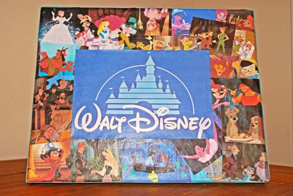 My Disney Collage available for purchase on etsy