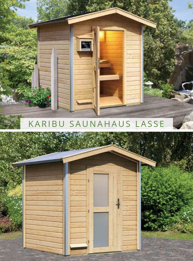 karibu saunahaus lasse in 2019 eine sauna f r den garten. Black Bedroom Furniture Sets. Home Design Ideas