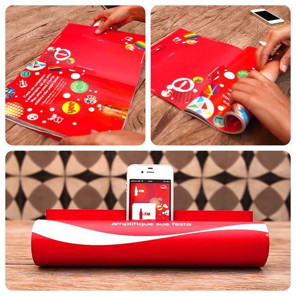 Coca Cola Fm Magazine Amplifier By Jwt Design