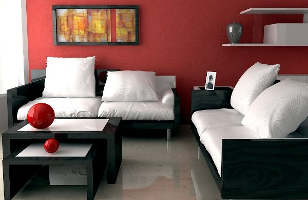 Beautify your Interior with the Daring and choleric Red Accent Wall lounge style ideas  Having the accent wall on your lounge can be solely Associate in Nursing choice so. However, to bring any innovation into your space, realizing the accent wall may be a utterly smart  plan. The terribly operate of this wall itself is sort of clear that's to interrupt the pattern created by the opposite walls.