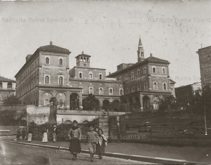 Via Mecenate Via C. Botta Suore di Cluny 1903