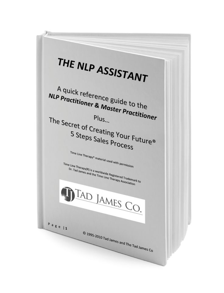 NLP Assistant Cards: A great pocket-sized reference collection with all NLP Practitioner, Master Practitioner and Time Line Therapy® references.
