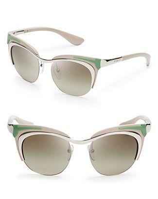 Prada Runway Cat Eye Sunglasses   Bloomingdale's: Sunglasses 365, Runway Cat, Accessories Eyeglasses, Cat Eyes, Eye Sunglasses Thes, Statement Sunglasses, Prada Runway, Prada Cat, Cat Eye Sunglasses