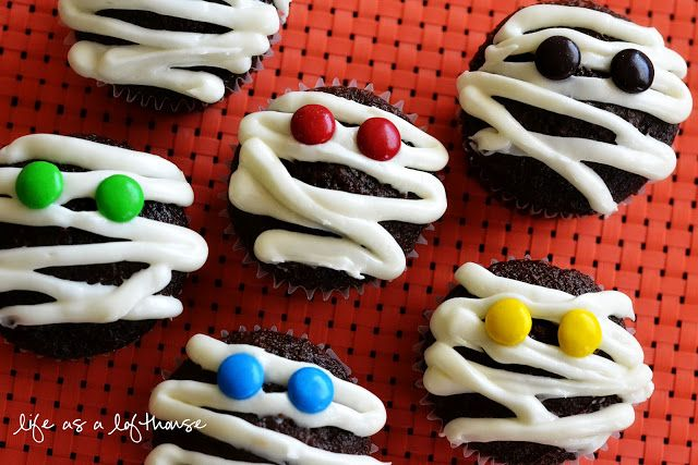 Mummy Cupcakes - Life In The Lofthouse
