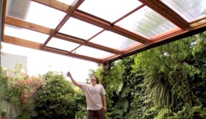 M s de 25 ideas incre bles sobre techos corredizos en - Como hacer un toldo para pergola ...