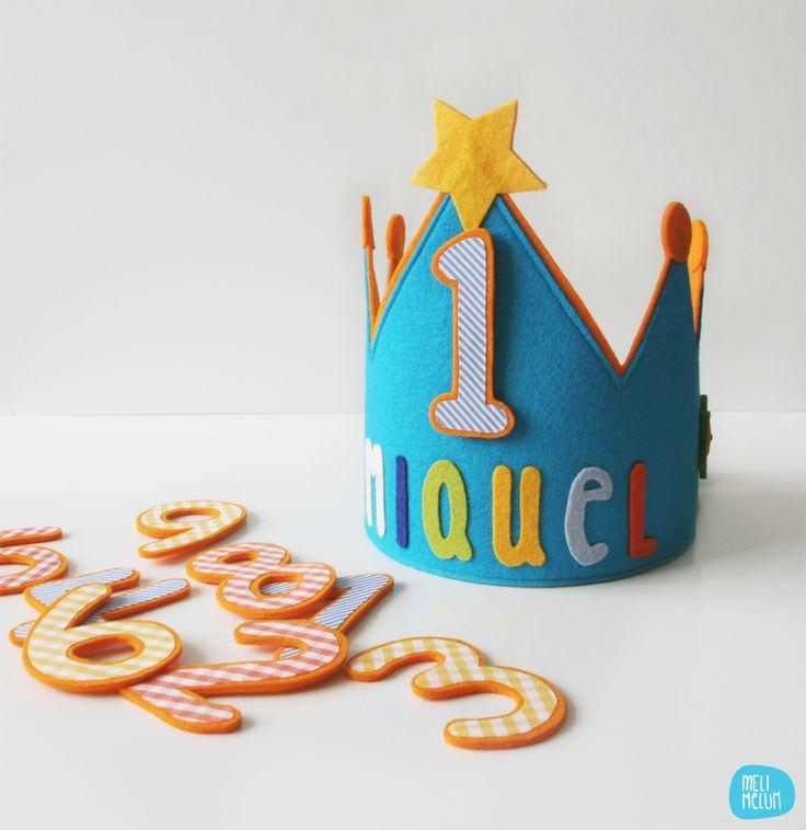 Coronas para cumpleaños