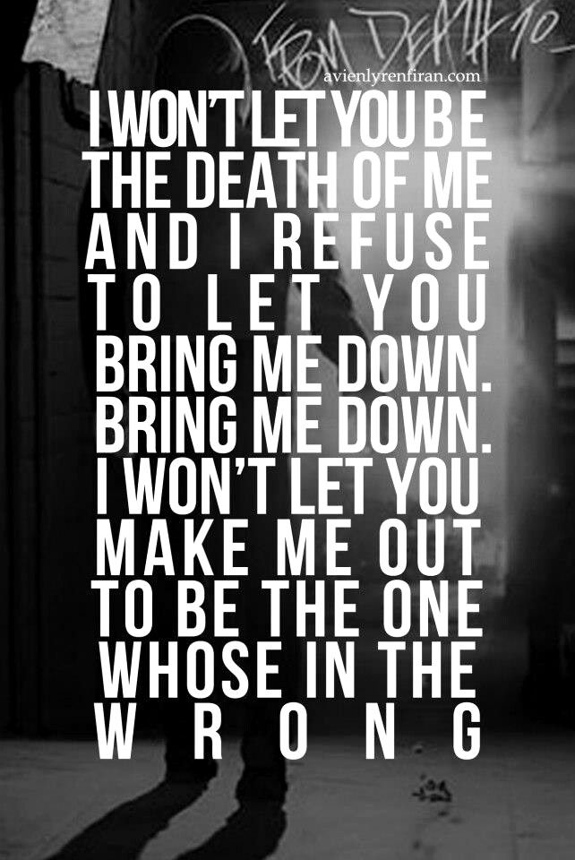 "Asking Alexandria. I was listening to ""The Death Of Me"" right when I was pinning this!"