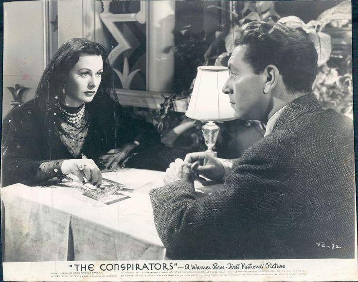 1944 Actors Paul Henreid Hedy Lamarr in Movie The Conspirators
