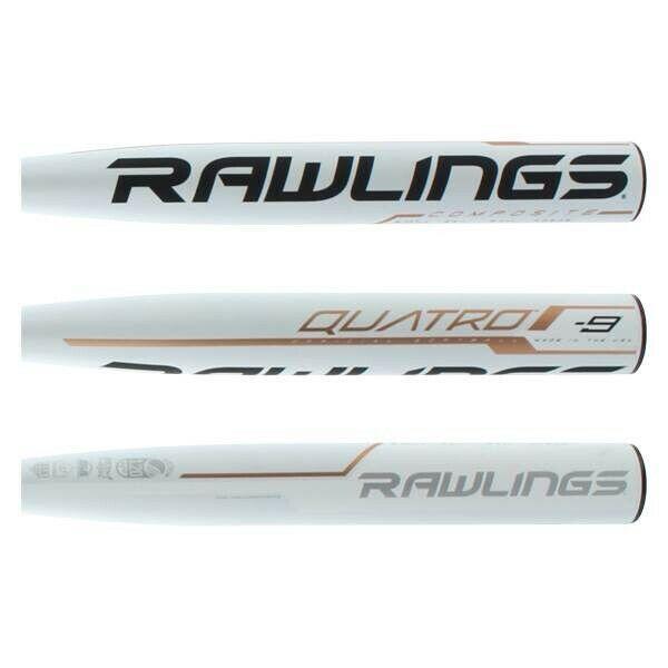 10 Fastpitch Softball Bat FP9Q10 2019 Rawlings Quatro