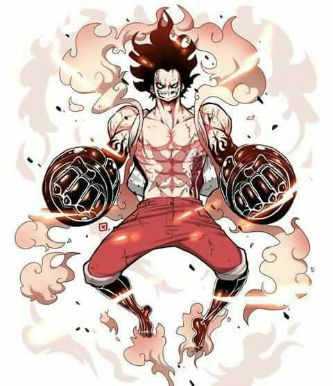 Bounce man being base, tank man gear 3 of gear 4 and snake man gear 2 of gear 4. Pin on One Piece