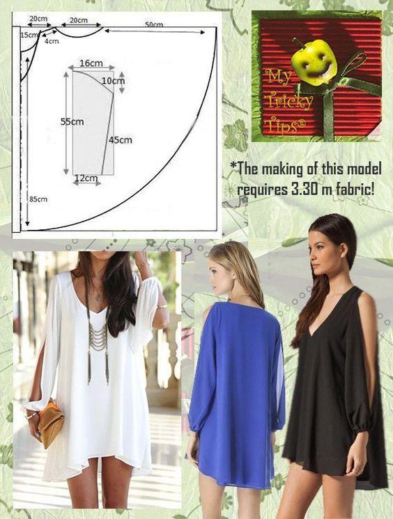 Easy to sew blouses...♥ Deniz ♥