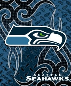 Tribal Seahawks logo! Love it!  Go Hawks! Go Legion of Boom!