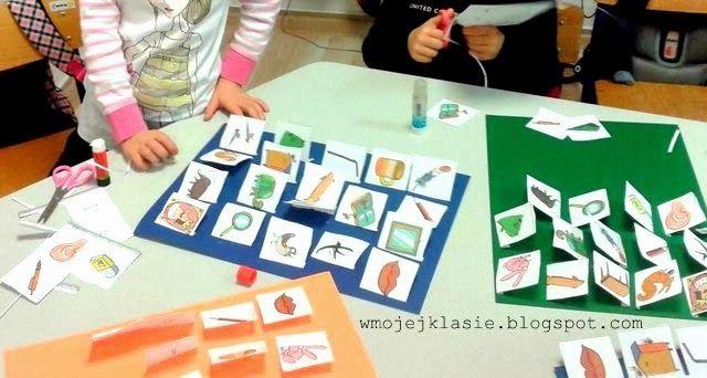 Nauka i zabawa z dzieckiem - W mojej klasie: Ortografia - Tablice (już) dla sześciolatka