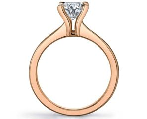 Always Stunning No Rose Colored Glasses Required The Fire Ice Diamonds Solitaire Engagement