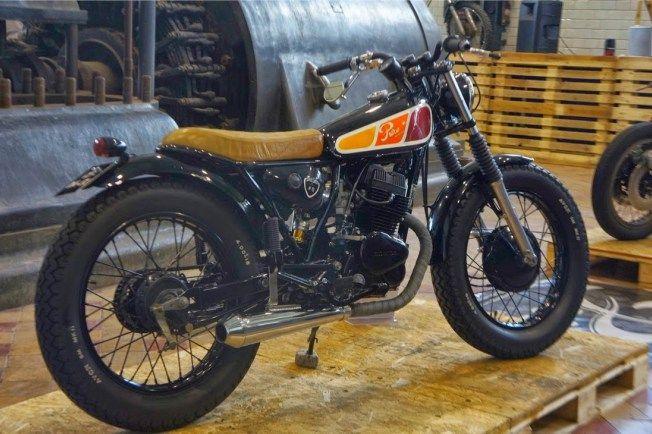 HONDA CB125T - PURE MOTORCYCLES - BUBBLE VISOR