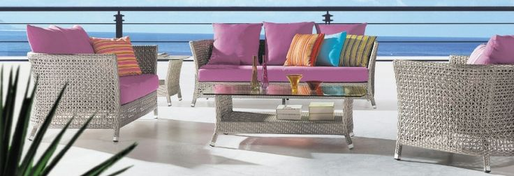 New Arrival.......Magnificent Colourful wicker Sofa set ....Discount : 15% flat off.........coupon code : FLAT15