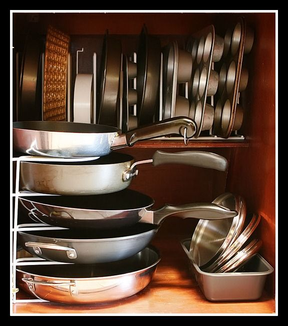 Pots And Pans Storage Ideas To Take Note Of: 14 Best Images About DIY Pot Rack On Pinterest