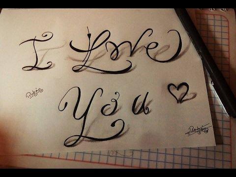 Como escribir I LOVE YOU fácil Letras -ROBEN DIBUJOS - Como escribir I LOVE YOU fácil Letras -ROBEN DIBUJOS --SUSCRIBETE PARA MAS CONTENIDO FACEBOOK OFICIAL: http://ift.tt/2smSKoZ... otros Dibujos: como hacer letras Mayusculas https://www.youtube.com/watch?v=n2Wix... Dibujando sombrerero loco:https://youtu.be/XwWspM8MSbc Dibujo carro Corvette https://youtu.be/7UkyanLGMN4 Dibujo ash y picachu: https://youtu.be/qMY6YfpiFu8 dibujo guason: https://youtu.be/3hZ1lRUWddE