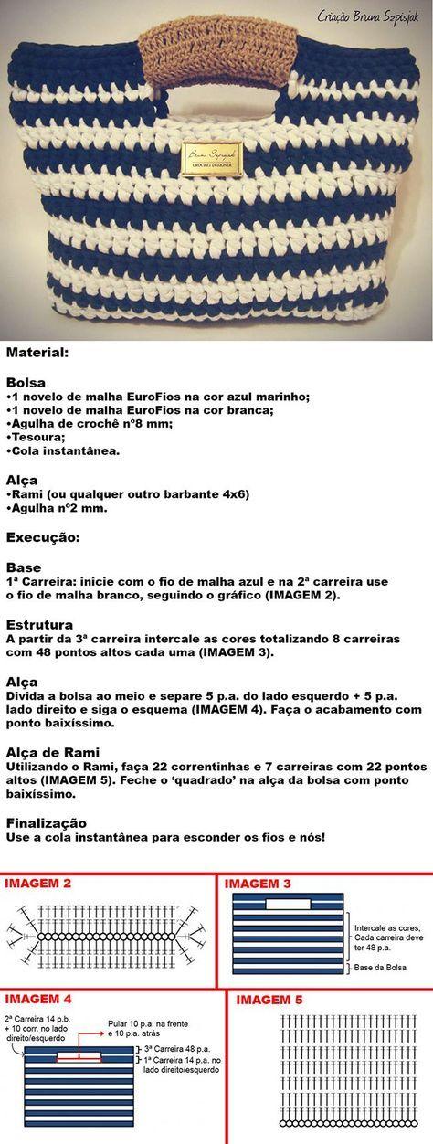 Bolsa de Fio de Malha ( Trapilho) https://www.armarinhosaojose.com.br/fio-de-malha