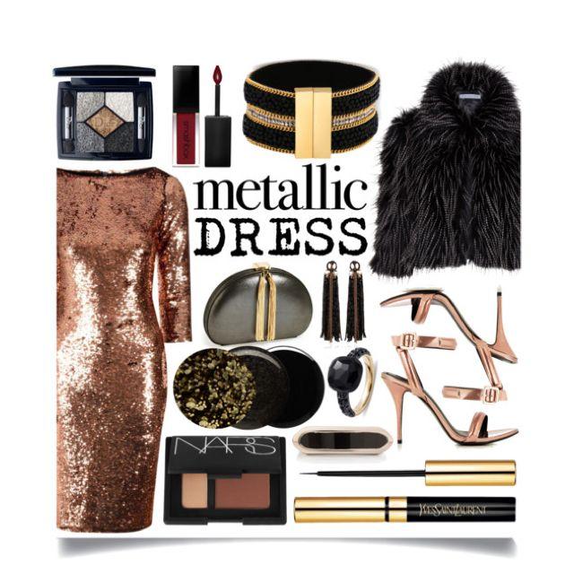 Heavy Metal: Metallic Dresses by ittie-kittie