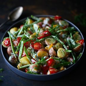 Vinterens potetsalat oppskrift kommer snart p blogg potetsalat potatosalad potethellip